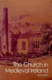Cover of: The church in medieval Ireland