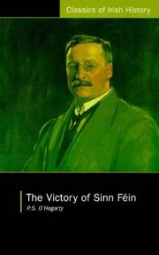 Cover of: The victory of Sinn Féin