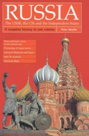 Cover of: Russia, the USSR, the CIS and the independent states