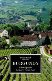 Cover of: The companion guide to Burgundy