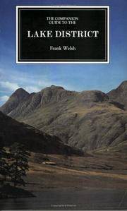 Cover of: The Companion Guide to the Lake District (Companion Guides) | Frank Welsh