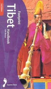 Cover of: Footprint Tibet Handbook  | Gyurme Dorje