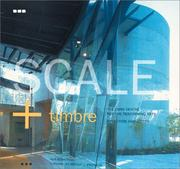 Cover of: Scale & Timbre | Neill Archer Roan