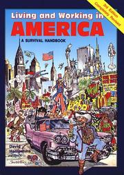 Cover of: Living and Working in America | David Hampshire