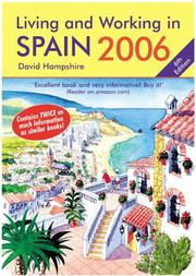 Cover of: Living and Working in Spain 2006 | David Hampshire