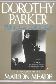 Cover of: Dorothy Parker | Marion Meade