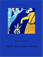 Cover of: Amok and other stories