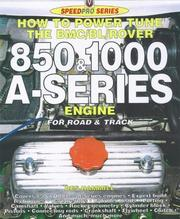 Cover of: How to Power Tune the BMC/BL/Rover 850-1000 cc