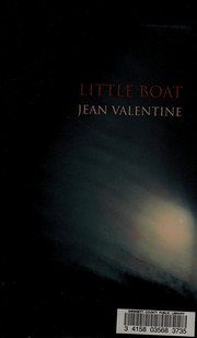 Cover of: Little boat | Jean Valentine