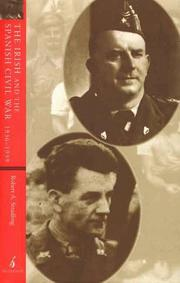 Cover of: The Irish and the Spanish Civil War 1936 39 | R. A. Stradling
