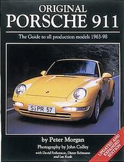 Cover of: Original Porsche 911 | Morgan, Peter