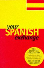 Cover of: Your Spanish exchange