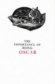 Cover of: Importance of Being Oscar