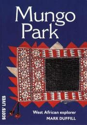 Cover of: Mungo Park