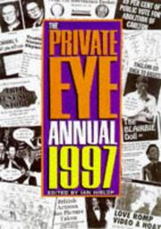 "Cover of: The ""Private Eye"" Annual"