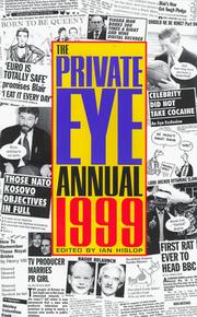 Cover of: The 1999 Private Eye Annual