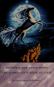 Cover of: Mountain man dance moves | from the editors of McSweeney's.