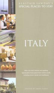 Cover of: Special Places to Stay Italy, 4th (Special Places to Stay) | Emma Carey
