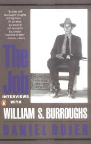 Cover of: The Job: Interviews with William S. Burroughs