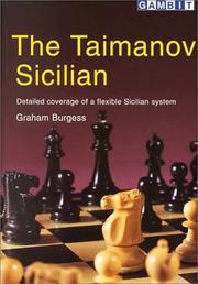 Cover of: The Taimanov Sicilian | Graham Burgess