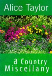 Cover of: A country miscellany