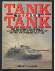 Tank versus tank by Kenneth John Macksey