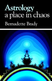 Cover of: Astrology, A Place in Chaos