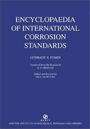 Cover of: Encyclopaedia of international corrosion standards