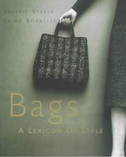 Cover of: Bags | Valerie Steele