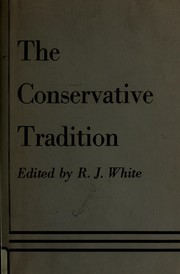 The Conservative tradition.