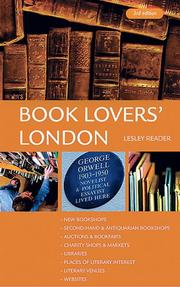 BK Lovers' London (Book Lovers' London)