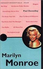 Cover of: Marilyn Monroe | Paul Donnelley