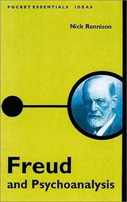 Cover of: Freud & Psychoanalysis: The Pocket Essential (Pocket Essentials: Ideas)