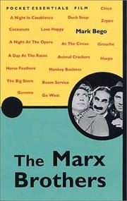 Cover of: The Marx Brothers