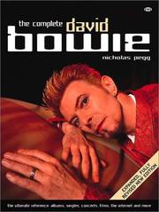 Cover of: The Complete David Bowie | Nicholas Pegg