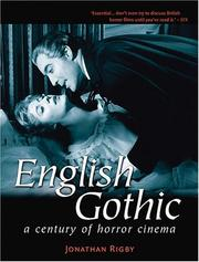 Cover of: English Gothic (Third Edition) | Rigby