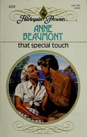 Cover of: That Special Touch | Anne Beaumont