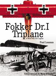 Cover of: Fokker Dr.I Triplane | Paul Leaman