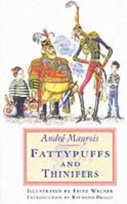 Cover of: Fattypuffs & thinifers