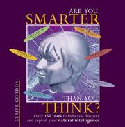 Cover of: Are you smarter than you think? | Claire Gordon