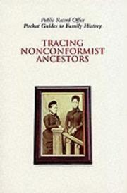 Cover of: Tracing nonconformist ancestors