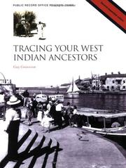 Tracing your West Indian ancestors by Guy Grannum