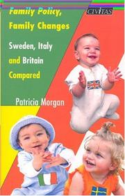 Cover of: Family Policy, Family Changes | Patricia Morgan