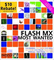 Flash MX Most Wanted