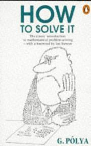 Cover of: How to Solve It | George PГіlya