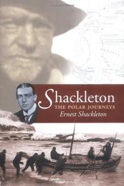 Cover of: Shackleton