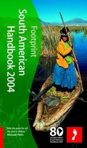 Cover of: Footprint 2004 South American Handbook (Footprint South American Handbook) | Ben Box
