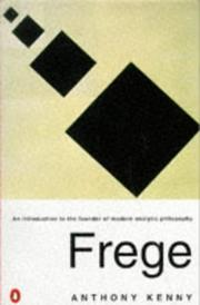 Cover of: Frege
