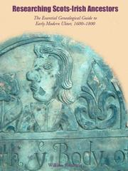 Cover of: Researching Scots-Irish Ancestors | William J. Roulston