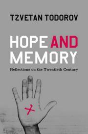 Cover of: Hope and Memory